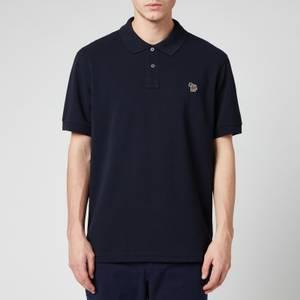 PS Paul Smith Men's Zebra Logo Regular Fit Polo Shirt - Dark Navy