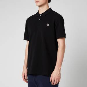 PS Paul Smith Men's Zebra Logo Regular Fit Polo Shirt - Black
