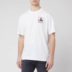 Edwin Men's Sunset On Mt. Fuji T-Shirt - White