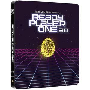 Ready Player One 3D (Einschließlich 2D Version) - Limited Edition Steelbook