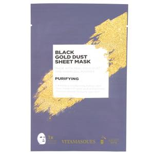 Vitamasques Black Gold Dust Sheet Mask