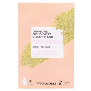 Vitamasques Diamond Gold Dust Sheet Mask