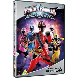 Power Rangers Ninja Steel - Fusion (Volume 3) Episodes 9-12