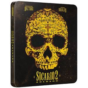 Sicario 2 La Guerre des Cartels 4K Ultra HD - Steelbook Édition Limitée