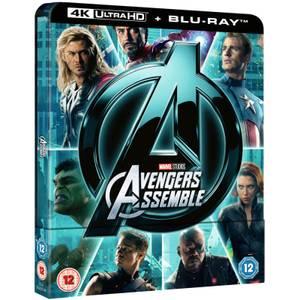 Avengers Assemble 4K Ultra HD (Includes 2D Version) - Zavvi UK Exclusive Steelbook