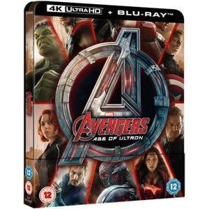 Avengers Age Of Ultron 4K Ultra HD (Includes 2D Version) - Zavvi UK Exclusive Steelbook