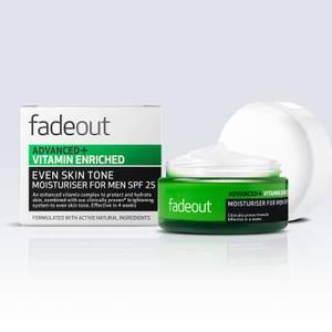 Fade Out Advanced + Vitamin Enriched Moisturiser for Men SPF 25 krem nawilżający dla mężczyzn z filtrem SPF 25 (50 ml)