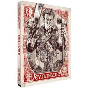 Evil Dead 2 - Zavvi Exclusive 4K Ultra HD Steelbook (Includes 2D Blu ray)