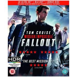 Mission: Impossible - Fallout - 4K Ultra HD (4KUHD + Blu-ray + Bonus Disc)