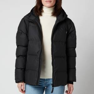 RAINS Women's Puffer Jacket - Black
