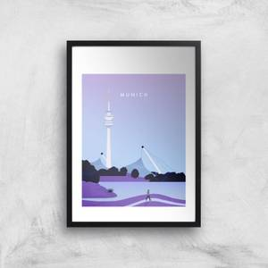 Munich Art Print