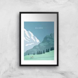 Algau Art Print