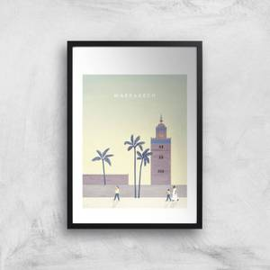 Marrakech Art Print