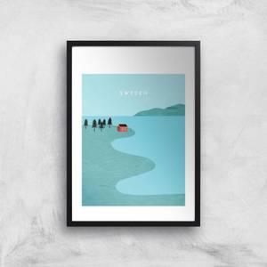 Sweden Art Print