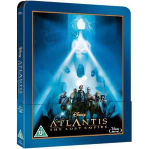 Atlantis The Lost Empire - Zavvi UK Exclusive Limited Edition Steelbook (The Disney Collection #40)