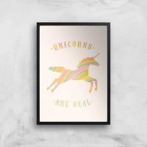 Florent Bodart Unicorns Are Real Art Print