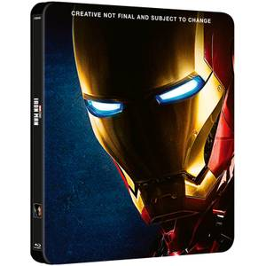 Iron Man 1 - 3 Collection - Zavvi UK Exclusive Steelbook