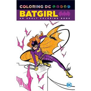 DC Comics Batgirl An Adult Coloring Book (Graphic Novel)