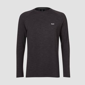 MP Men's Performance Long-Sleeve T-Shirt - Black Marl