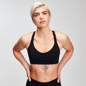 MP Women's Power Mesh Sports Bra - Black