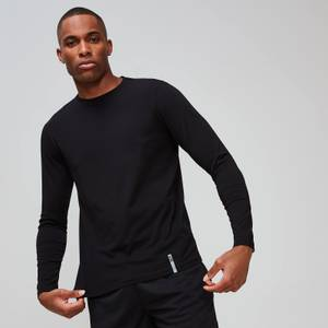 MP Men's Luxe Classic Long Sleeve Crew - Black