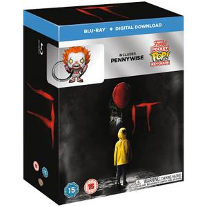Set de Regalo Funko IT - Blu-ray + Llavero Funko Pop!