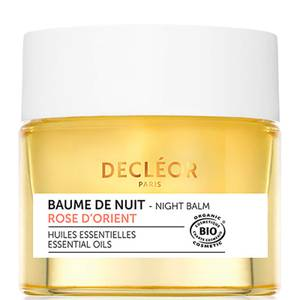 DECLÉOR Organic Aromessence Rose d'Orient Soothing Comfort Night Balm łagodzący balsam na noc