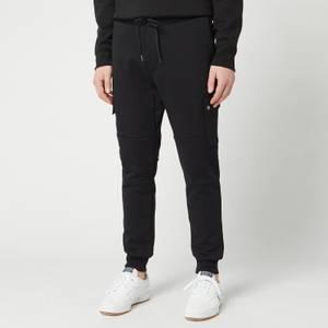 Polo Ralph Lauren Men's Double Knit Cargo Jogger Trousers - Polo Black