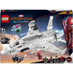 LEGO L'attaque de Spider Man avec le jet de Stark (76130)