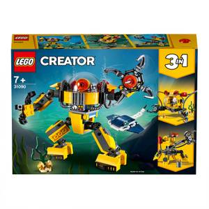 LEGO Creator: 3in1 Underwater Robot Building Set (31090)