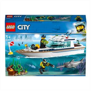 LEGO® City: Yacht per immersioni (60221)