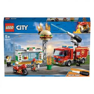 LEGO City: Burger Bar Fire Rescue Engine Toy (60214)