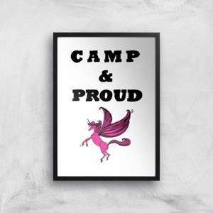 Rock On Ruby Camp & Proud Art Print