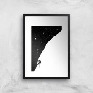 Balazs Solti Starry Climb Art Print