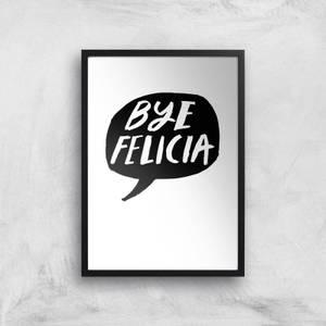 Rock On Ruby Bye Felicia Art Print