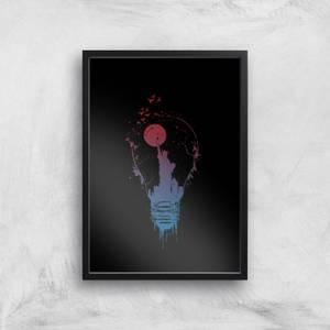Balazs Solti NYC Moon Art Print