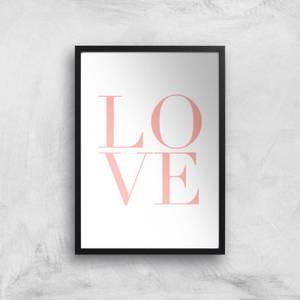 PlanetA444 LOVE Art Print