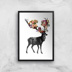Tobias Fonseca Spring Itself Deer Floral Art Print