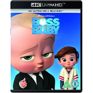 The Boss Baby - 2018 Vernieuwd artwork - 4K Ultra HD (inclusief Blu-Ray)
