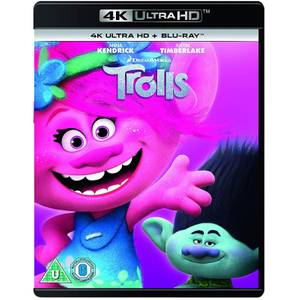 Trolls 4K - 2018 Artwork Refresh - 4K Ultra HD (Includes Blu-Ray)