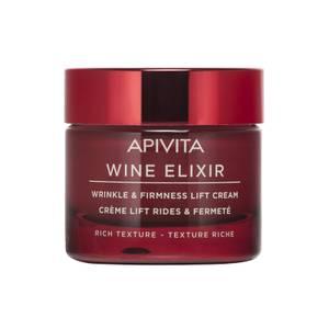 APIVITA Wine Elixir Wrinkle & Firmness Lift Cream krem przeciwzmarszczkowy – Rich Texture 50 ml