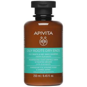 APIVITA Holistic Hair Care Oily Roots & Dry Ends Shampoo – Nettle & Propolis 250 ml
