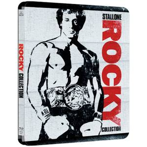 Rocky 1-6 -Zavvi UK Exclusive Limited Edition Steelbook