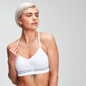 MP Women's Essentials Sømløs bralette – Hvit