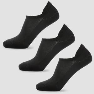 MP Women's Essentials Ankle Socks - Black (3 Pack)