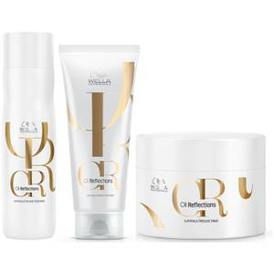Wella Oil Reflections Trio Bundle (Worth £48.60)