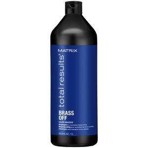 Matrix Total Results Brass Off Brunette Blue Shampoo for Lightened Brunette Hair1000ml