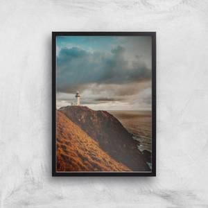 Liam Burleigh Lighthouse Art Print