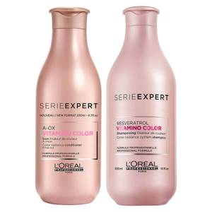 L'Oréal Professionnel Serie Expert Vitamino Color Shampoo and Conditioner Duo