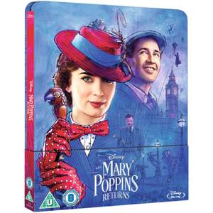 El regreso de Mary Poppins - Steelbook Edición Limitada Exclusivo de Zavvi (Edición UK)